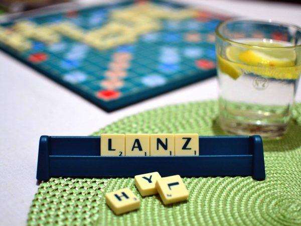 Rätselspiel - Scrabble