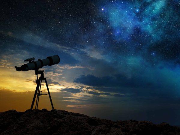 Teleskop Nachthimmel