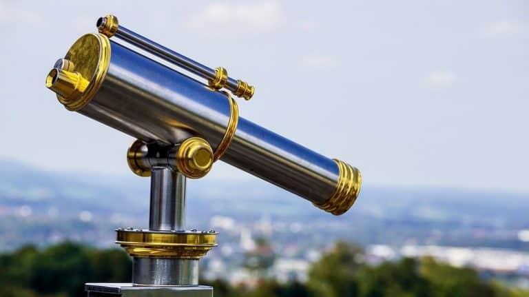 Spiegelteleskop Test