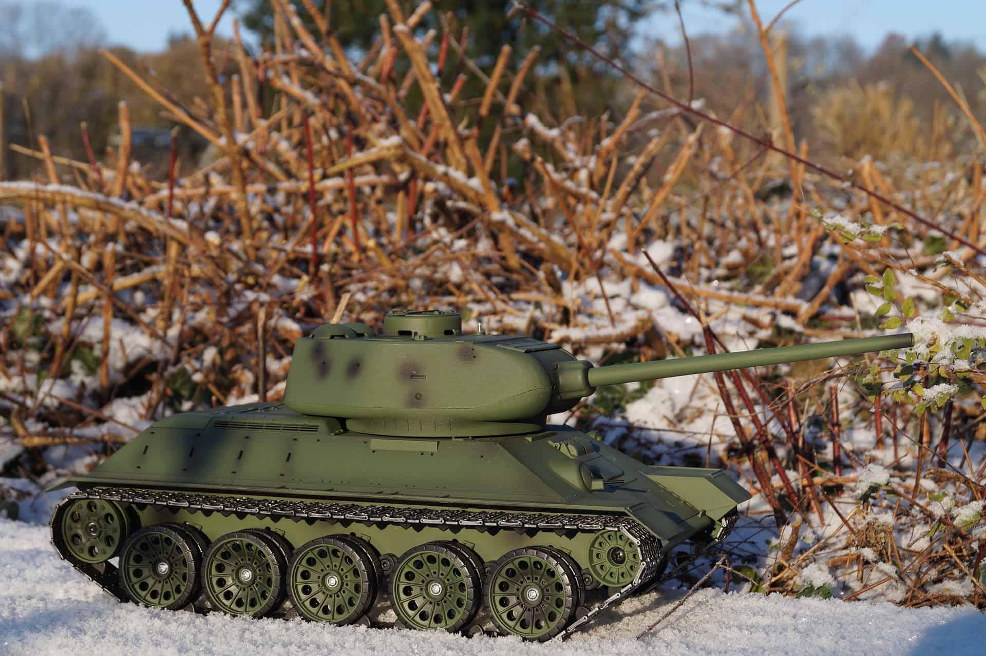 ferngesteuerter panzer