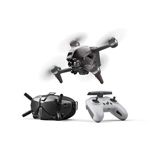 DJI FPV Combo - First-Person View Drohne Flycam Quadrocopter UAV, OcuSync 3.0 HD-Übertragung, 4K-Video, Superweites 150 ° FOV, Beeindruckendes Flugerlebnis