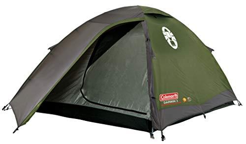 Coleman Darwin 3 Zelt, 3 Mann Campingzelt, einfach aufzubauen, 3 Personen Zelt für Trecking und Touren, wasserdicht WS 3.000 mm