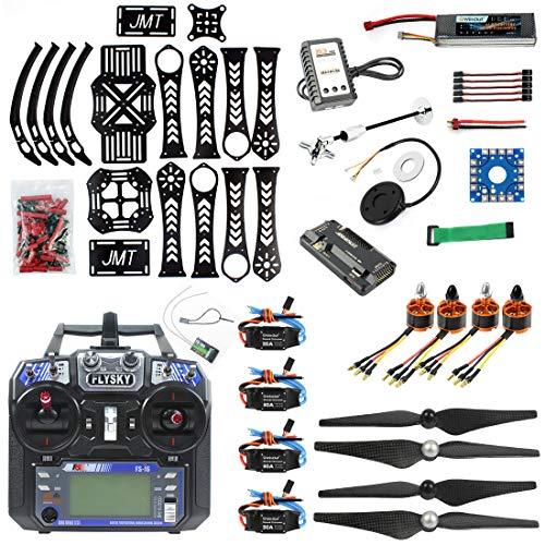 QWinOut SELBERMACHEN RC-Drohne Quadrokopter X4M360L Rahmen Kit: GPS + APM 2.8 Flugkontrolle + Bürstenloser Motor + Bürstenloses ESC + Lipo Akku